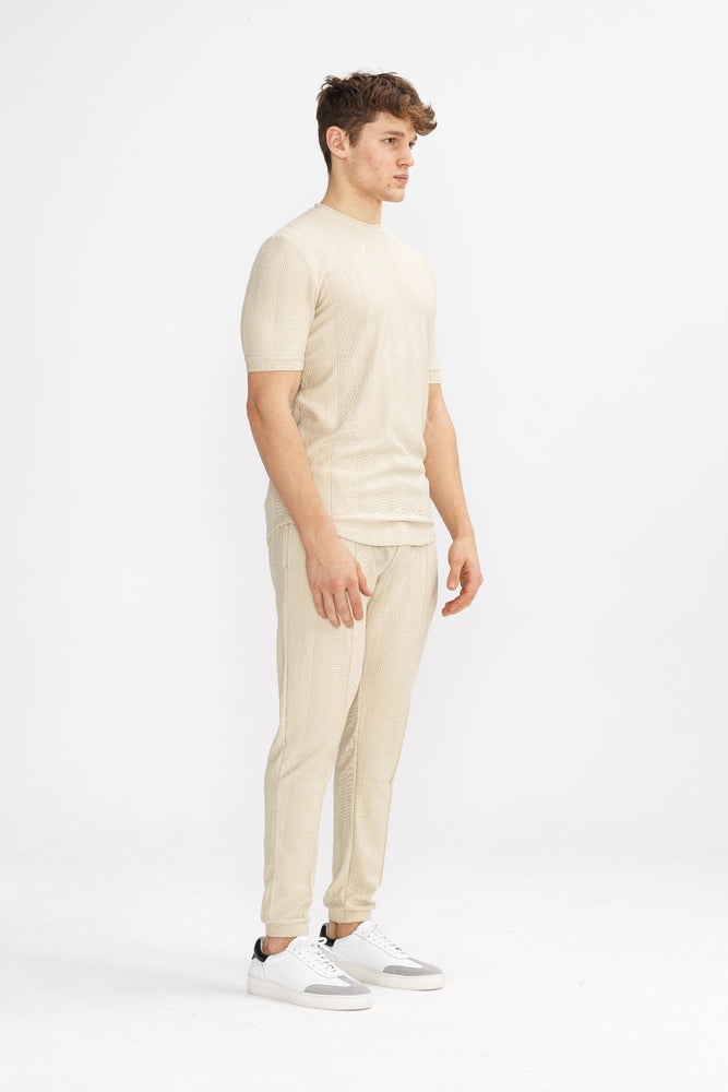 Tan Broad Street Slim Fit Trousers