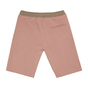 Pink Queens Pleated Shorts
