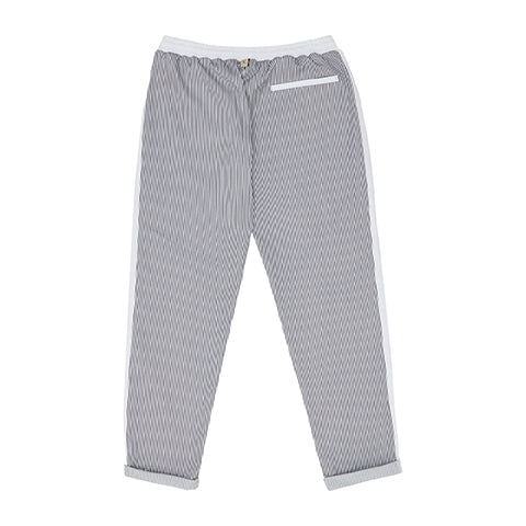 White River Stripe Slim Fit Trousers