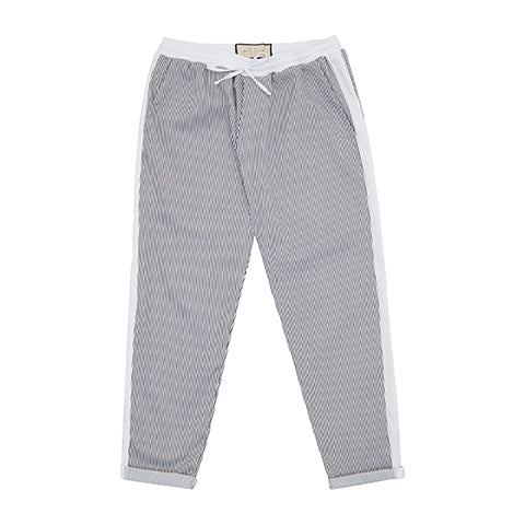 White River Stripe Slim Fit Trousers - P r é v u . S t u d i o .