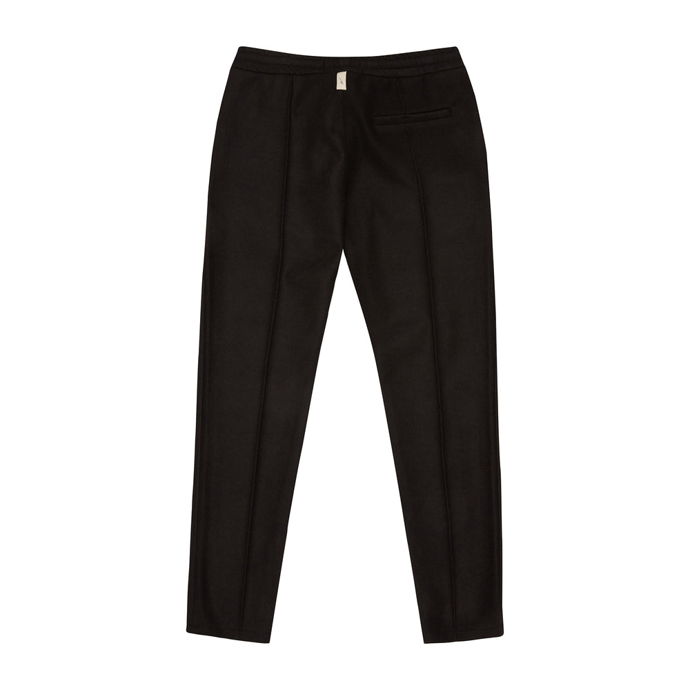 Load image into Gallery viewer, Black Nord Slim Fit Wool Trousers - P r é v u . S t u d i o .