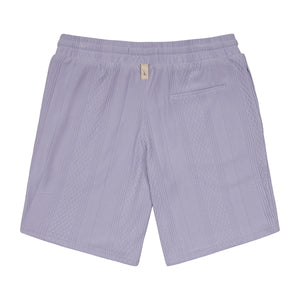 Load image into Gallery viewer, Lilac Broad Street Shorts - P r é v u . S t u d i o .