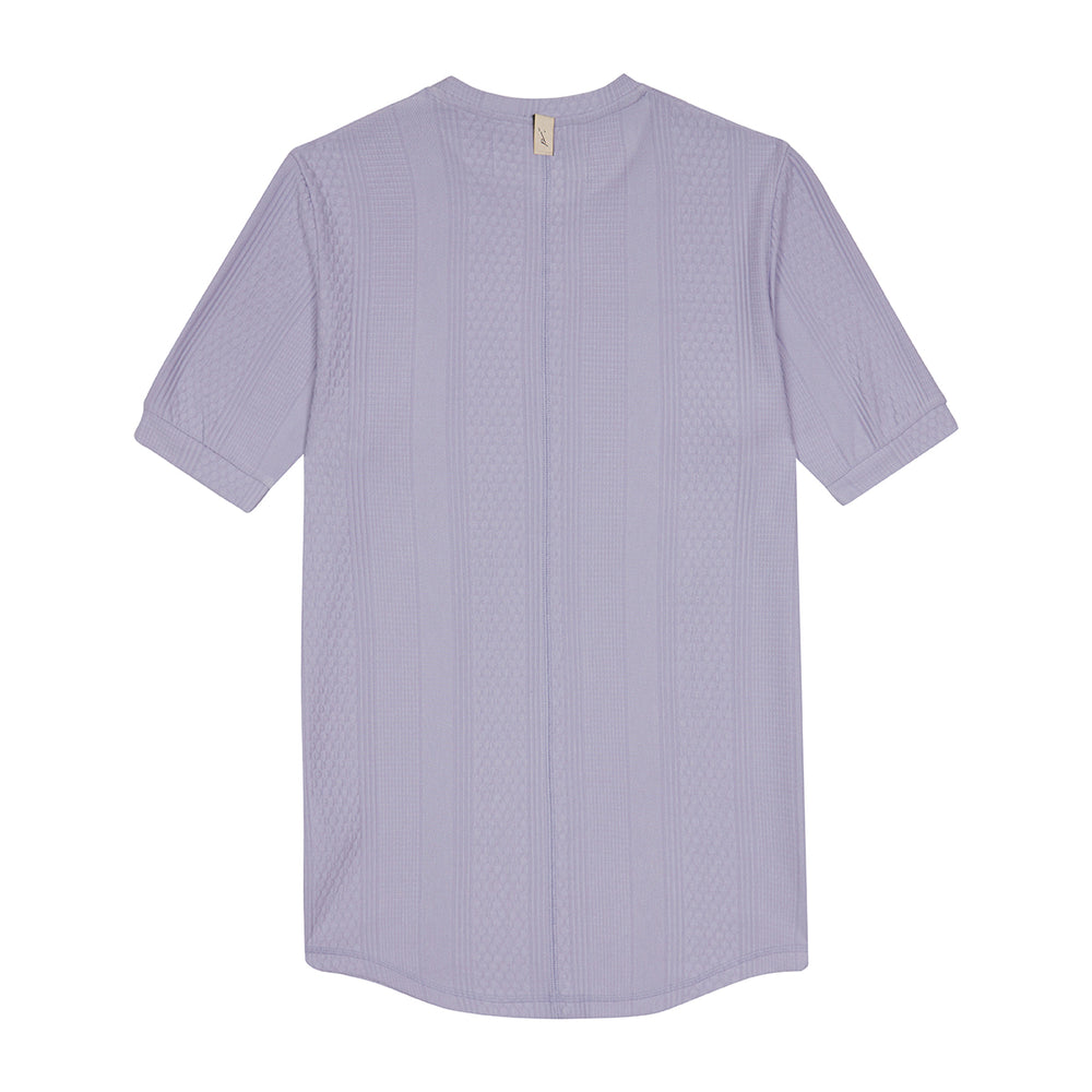 Lilac Broad Street Short Sleeve T-Shirt