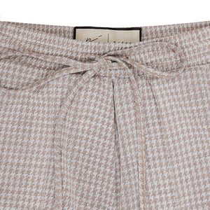Women's Tan Puppytooth Medina Trouser