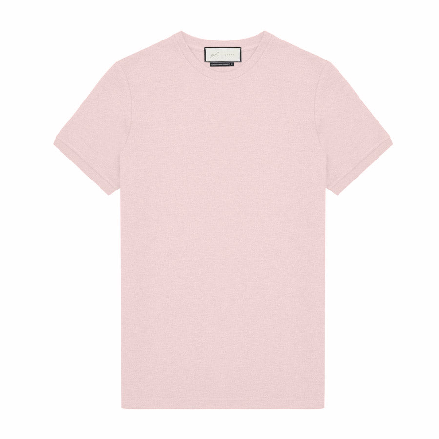 Tech Jersey Short Sleeve Heavyweight T-Shirt Blush