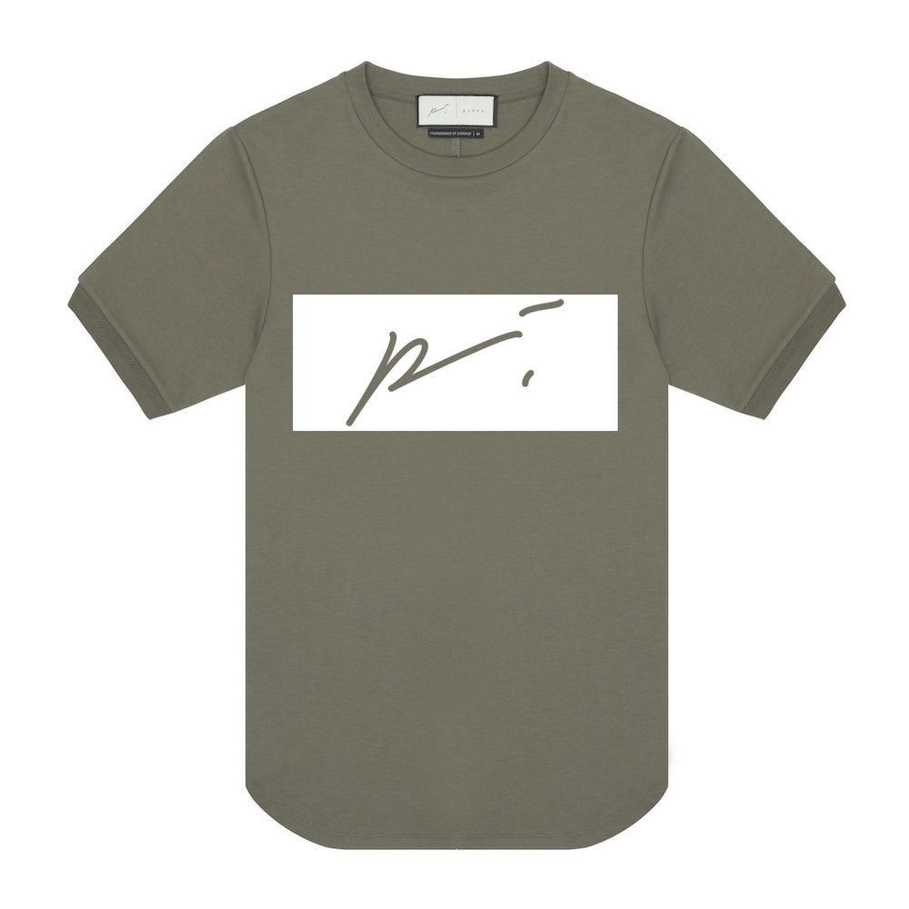 Load image into Gallery viewer, Core Cotton Print Tee Box logo - P r é v u . S t u d i o .