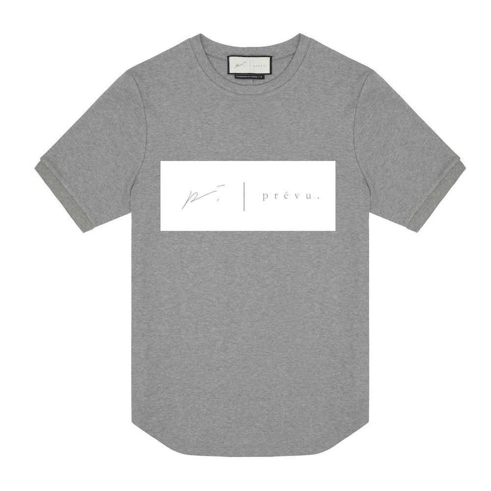 Core Cotton Print Tee Double Logo