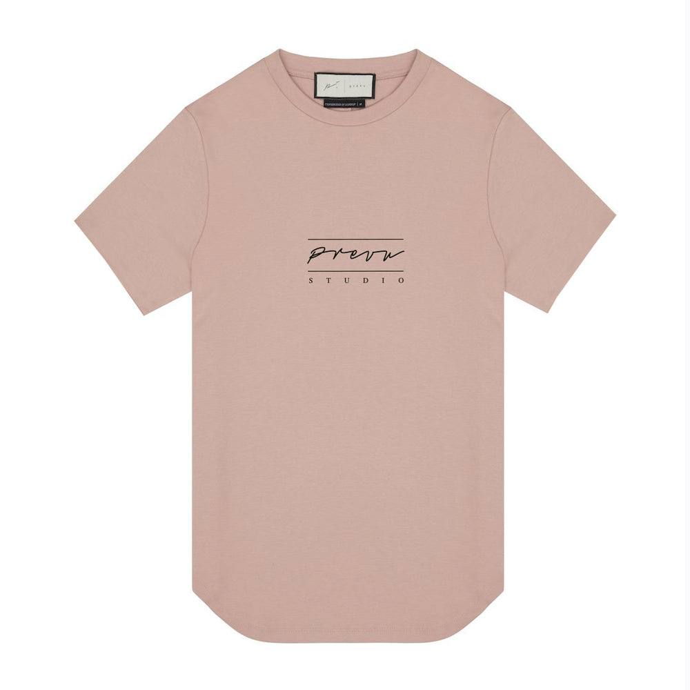 Blush Prevu Studio T Shirt Heat Bonded