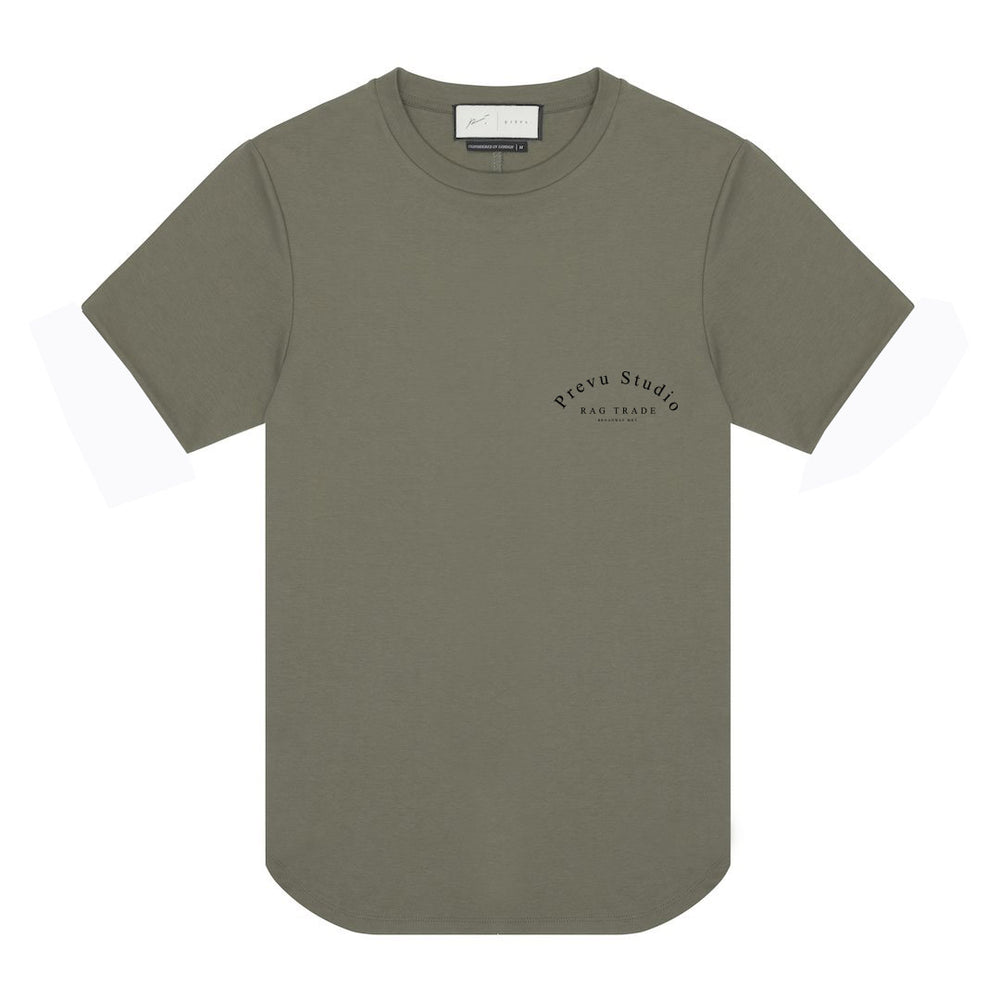Olive Rag Trade T Shirt Heat Bonded