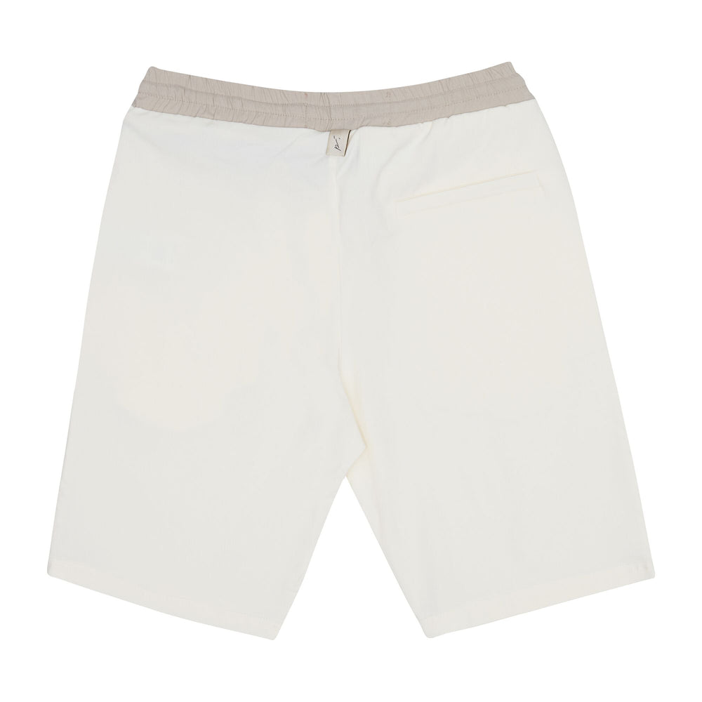 Cream Salvatore Shorts - P r é v u . S t u d i o .