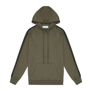 OLIVE TECH JERSEY O/H HOODIE