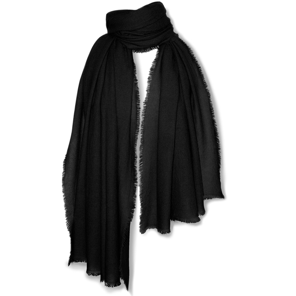 Hemisphere Shawl- Black