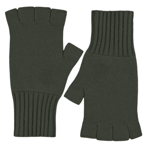 Fingerless Gloves - New Army Green