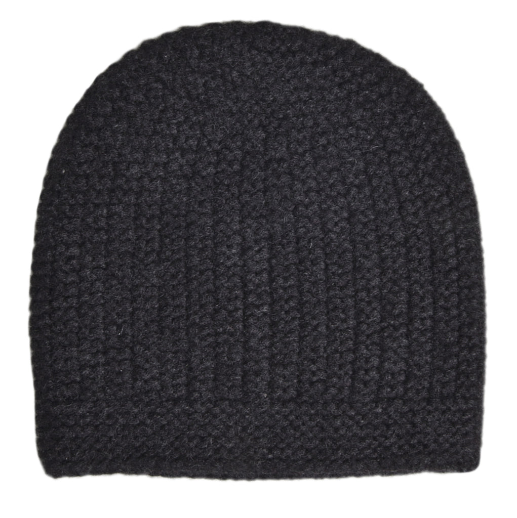 Carlyle Knit Hat - Dark Grey Melange