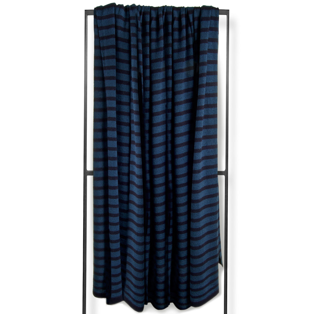Capri Throw - Navy / Dusk