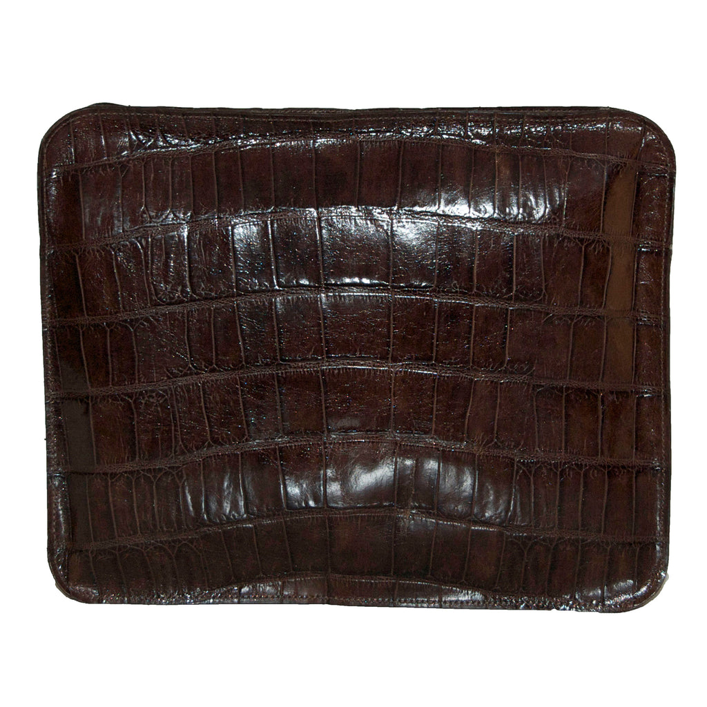 Leather Travel Pouch - Sesame Cashmere Blanket