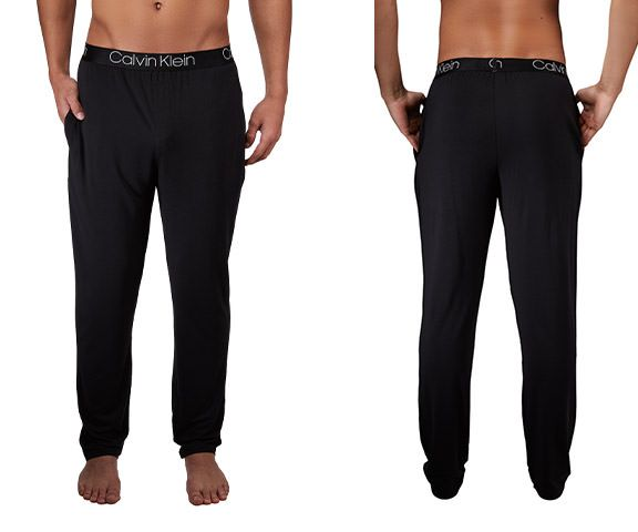 Calvin Klein NM1662-001 Ultra Soft Modal Lounge Sleep Pant Color Black