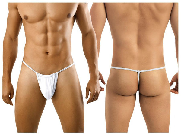 CandyMan 9586 Thong Color White