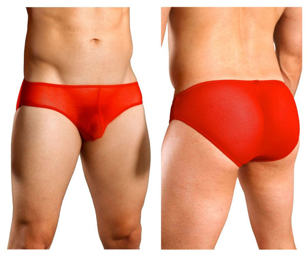Doreanse 1321-RED Sexy Sheer Brief Color Red