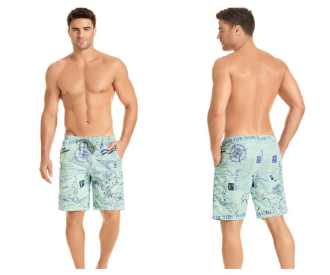 HAWAI 51903 Swim Trunks Color Blue