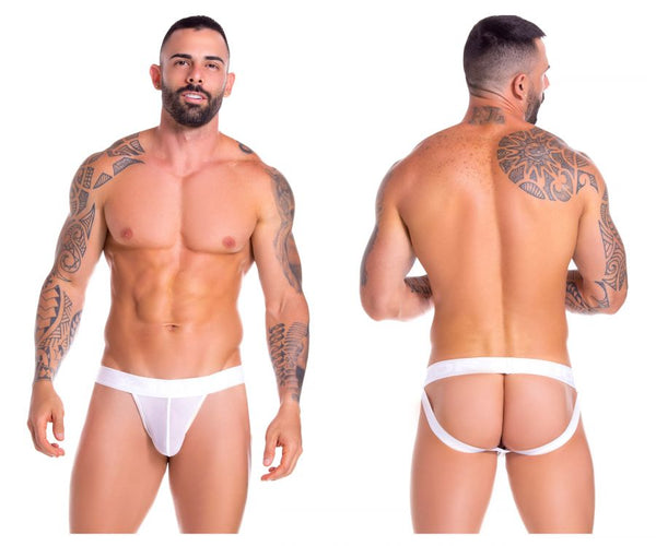 JOR 0885 Mesh Jockstrap Color White