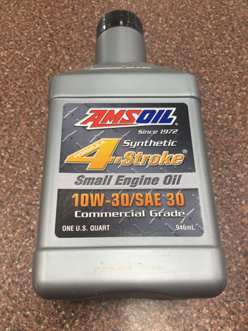 AMS Oil synthetic four stroke small engine oil