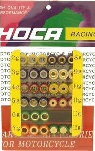 High Performance Moped & Scooter Roller Weight Tuning Kit