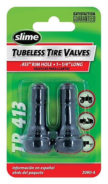 Slime Tubeless PowerSports Tire Valve Replacements - TaoTaoPartsDirect.com