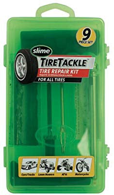 Slime 9 piece Tire Tackle Repair Kit