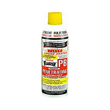 #1 Penetrant Catalyst for rust and corrosion PB B'Laster