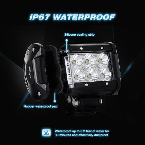 "New Weather Proof 4"" Universal LED Spot Light"