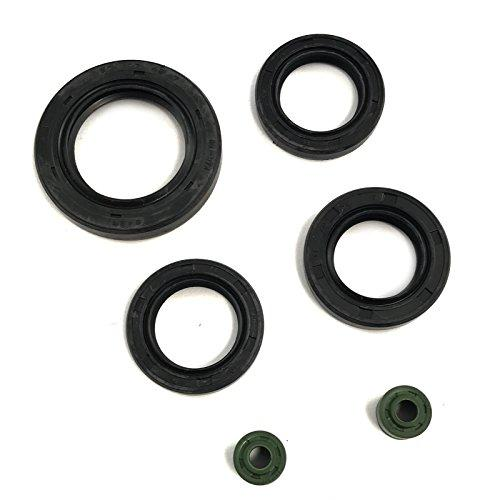 OIL SEAL OIL SHAFT RING 6 PIECE SET 50-125-150CC SCOOTER MOPED ATV GY6  PARTS 4 STROKE TAOTAO JONWAY BMS PEACE ROKETA ZNEN PEACE JMSTAR SUNL VIP