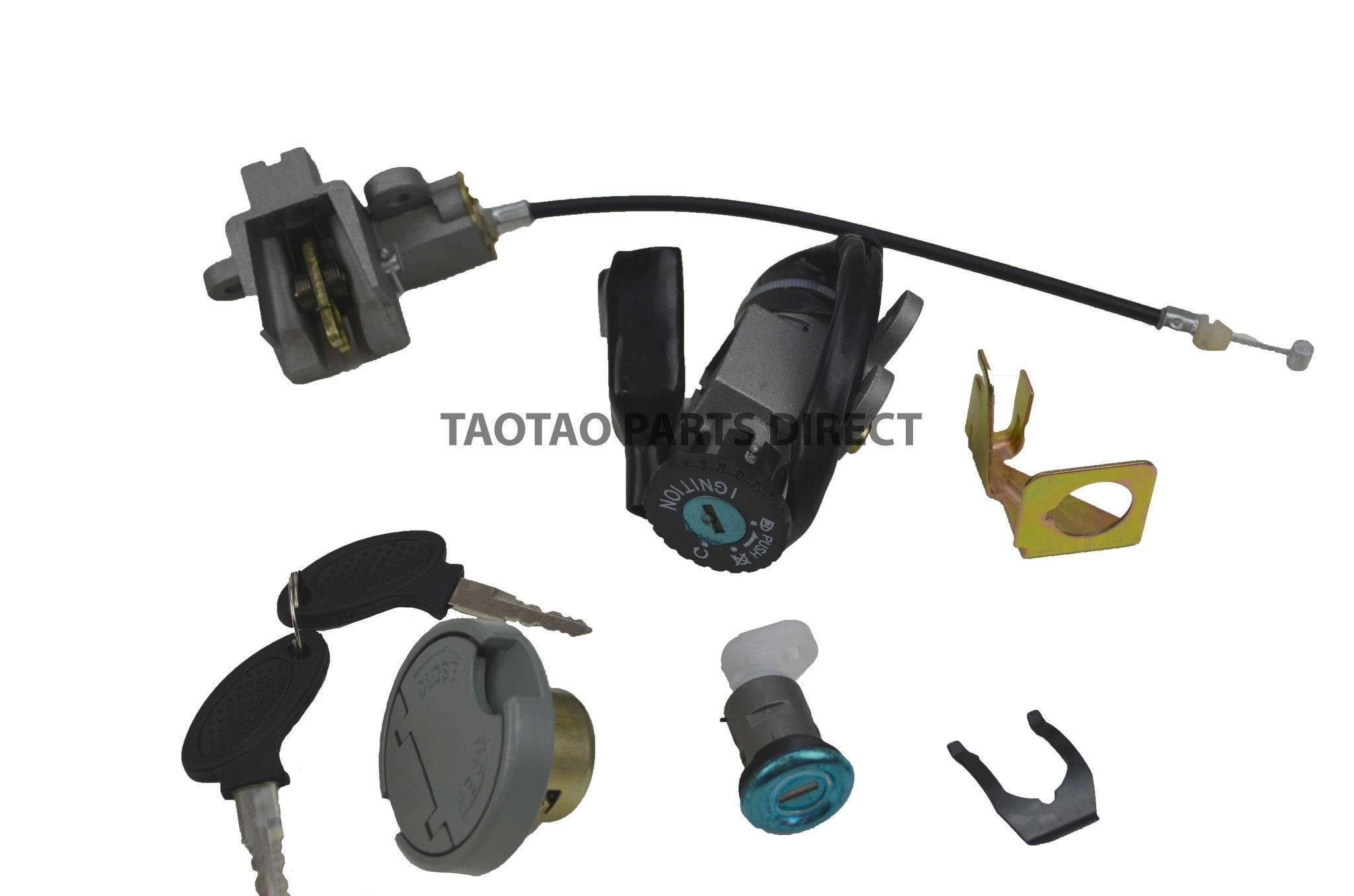 Scooter Parts - ATM50A1 Key Ignition