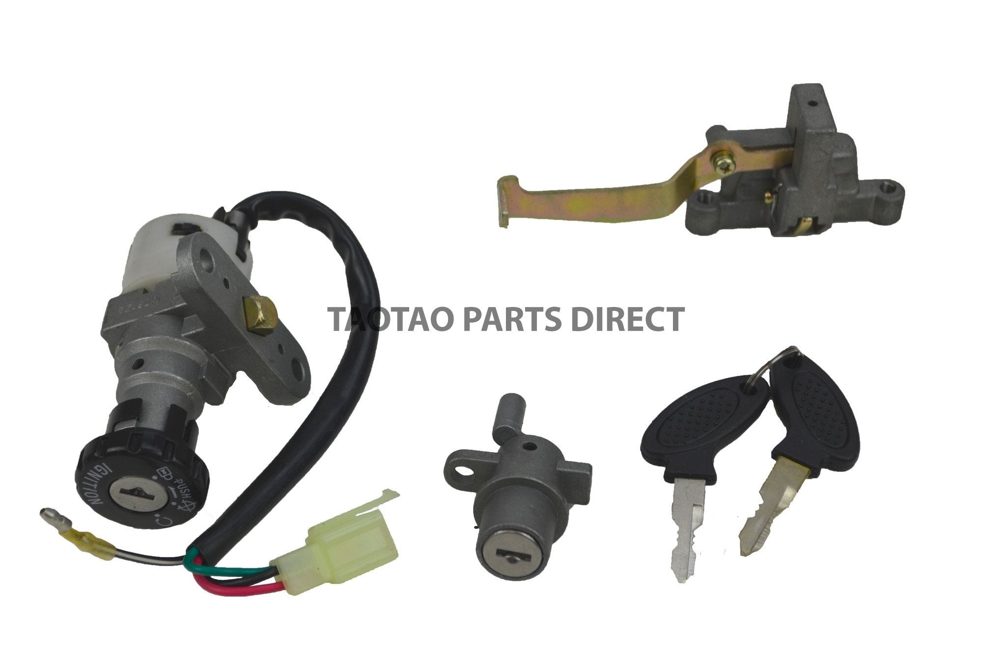 Scooter Parts - CY50B Key Ignition Set