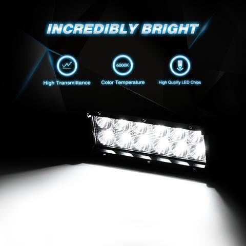 "Two 6.5"" Ultra Bright LED Fog Lights for Power Sports - TaoTaoPartsDirect.com"
