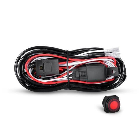 Ultra Bright LED / Wiring harness kit FOG LIGHTS