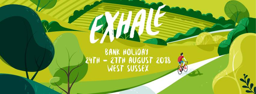 Cosy Camping at Exhale Festival 2018
