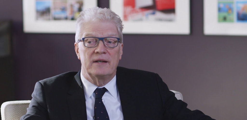 Sir Ken Robinson speaks on outdoor play