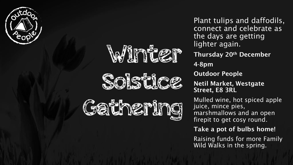 Thursday 16th December Solstice Celebration and Bulb Planting