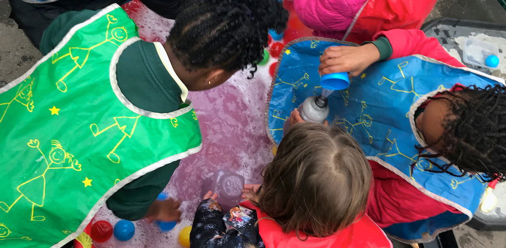Outdoor Play and Learning, OPAL, in action