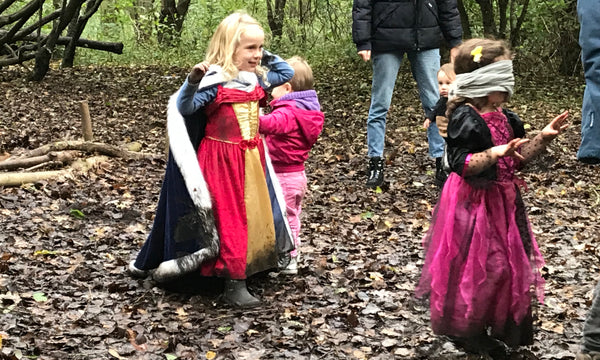 Wick Woods Wild Walk halloween outdoor play