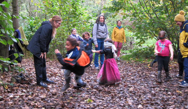 Halloween Wild Walk Wick Woods London outdoor play