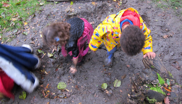 Halloween Wild Walk Wick Woods outdoor play mud