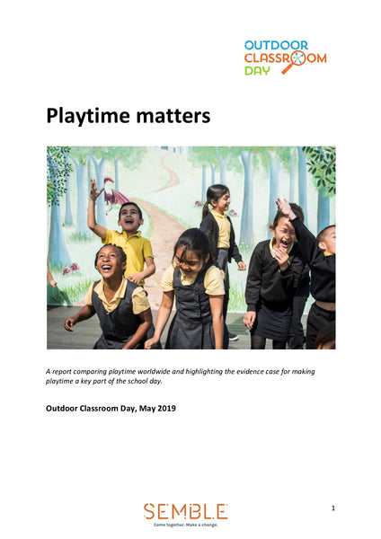 Playtime Matters