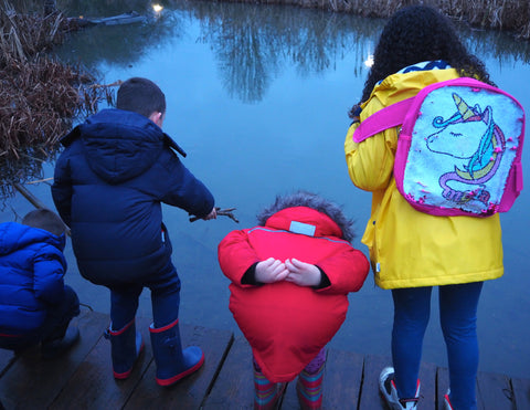 haggerston park pond family wild walk outdoor people