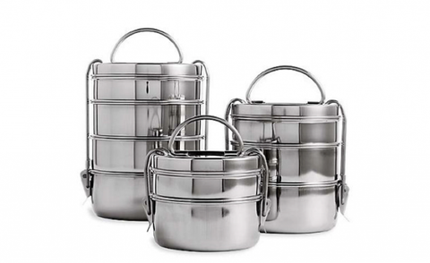 Steel Tiffins - environmentally friendly traditional lunchboxes!
