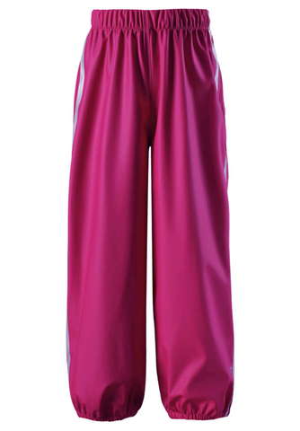Oja Rain Over Trousers (ages 4-9yrs) - Dark Berry