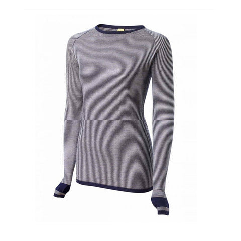 Merino Base Layer Dark Navy/Oatmeal
