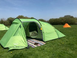 Singing with Nightingales: Cosy Camping Tent Hire