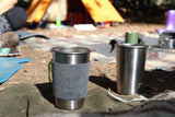 Four pack Klean Kanteen 10oz  Steel Cups